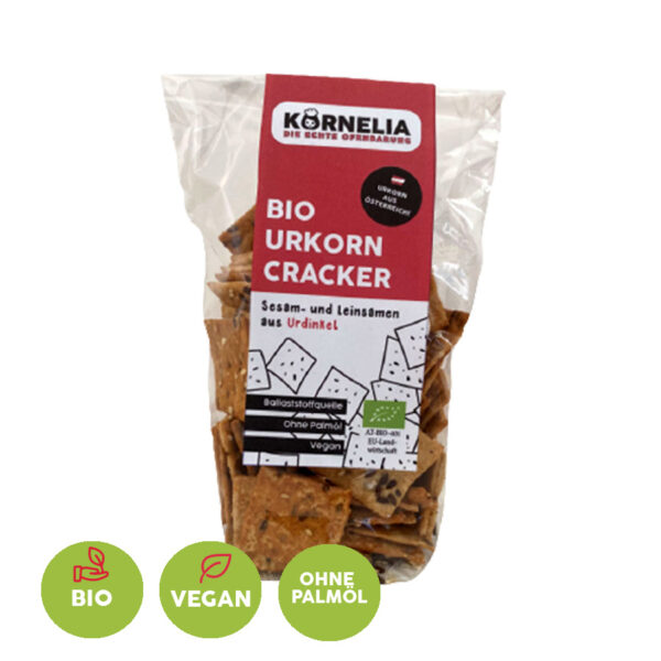 Bio Urkorn Cracker