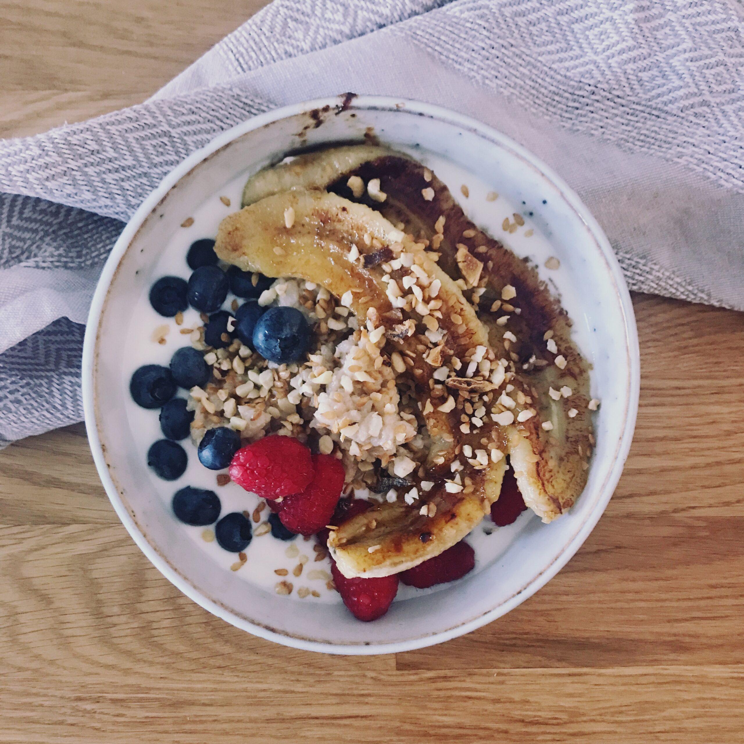 Porridge mit Einkornflocken