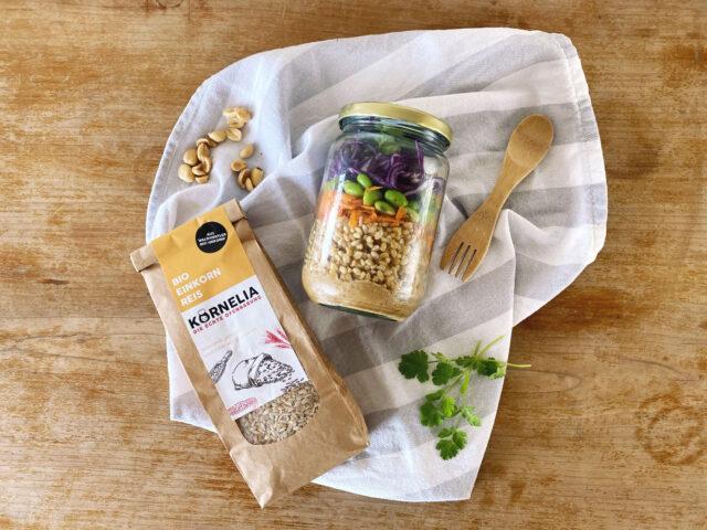 Thai Einkornreis Salat