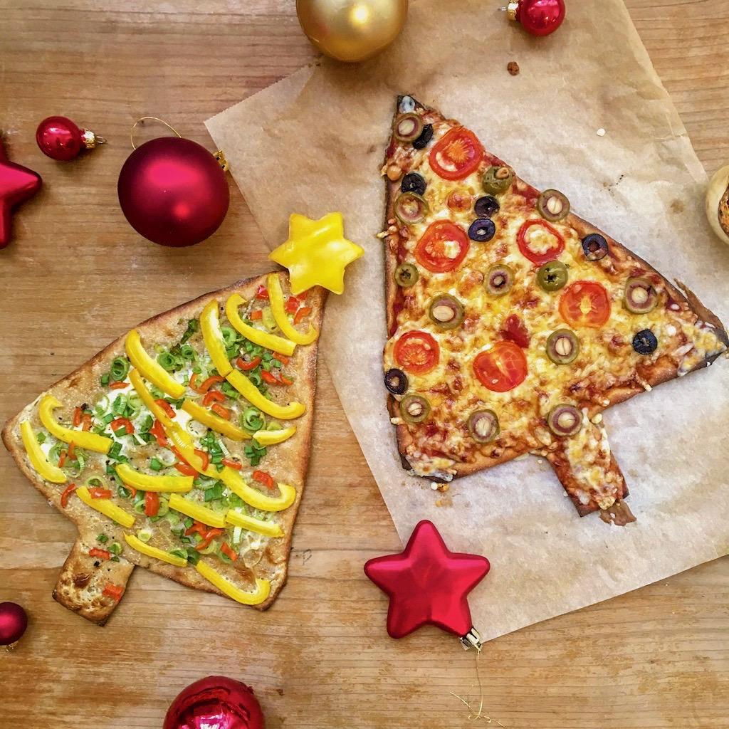 Weihnachtspizza