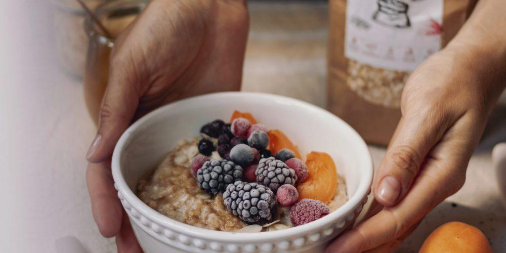 Einkornflocken Porridge